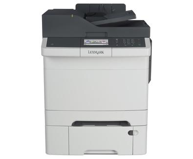 Lexmark CX410dte 1200 x 1200DPI Laser A4 32Seiten pro Minute Schwarz - Grau Multifunktionsgerät