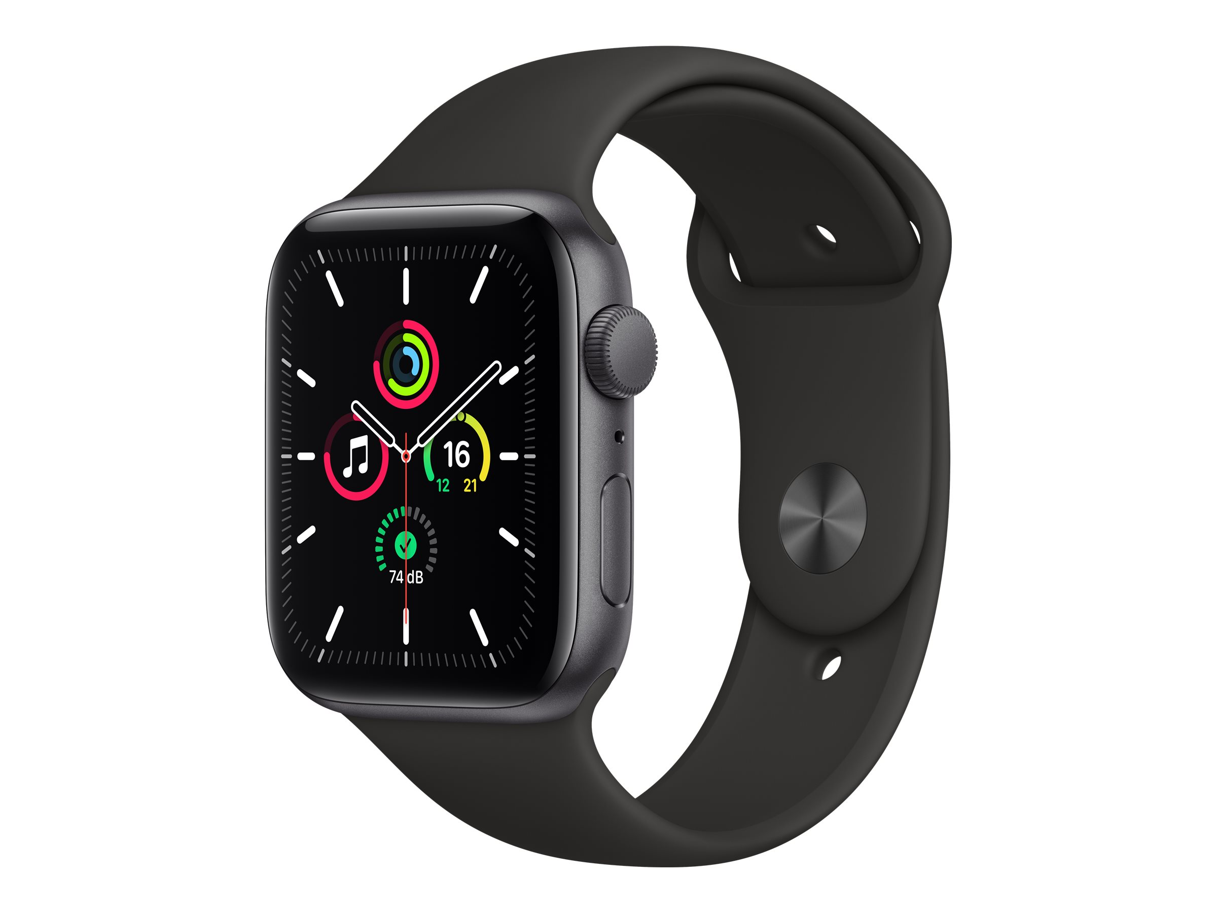 Apple Watch SE (GPS) - 44 mm - Space grau Aluminium