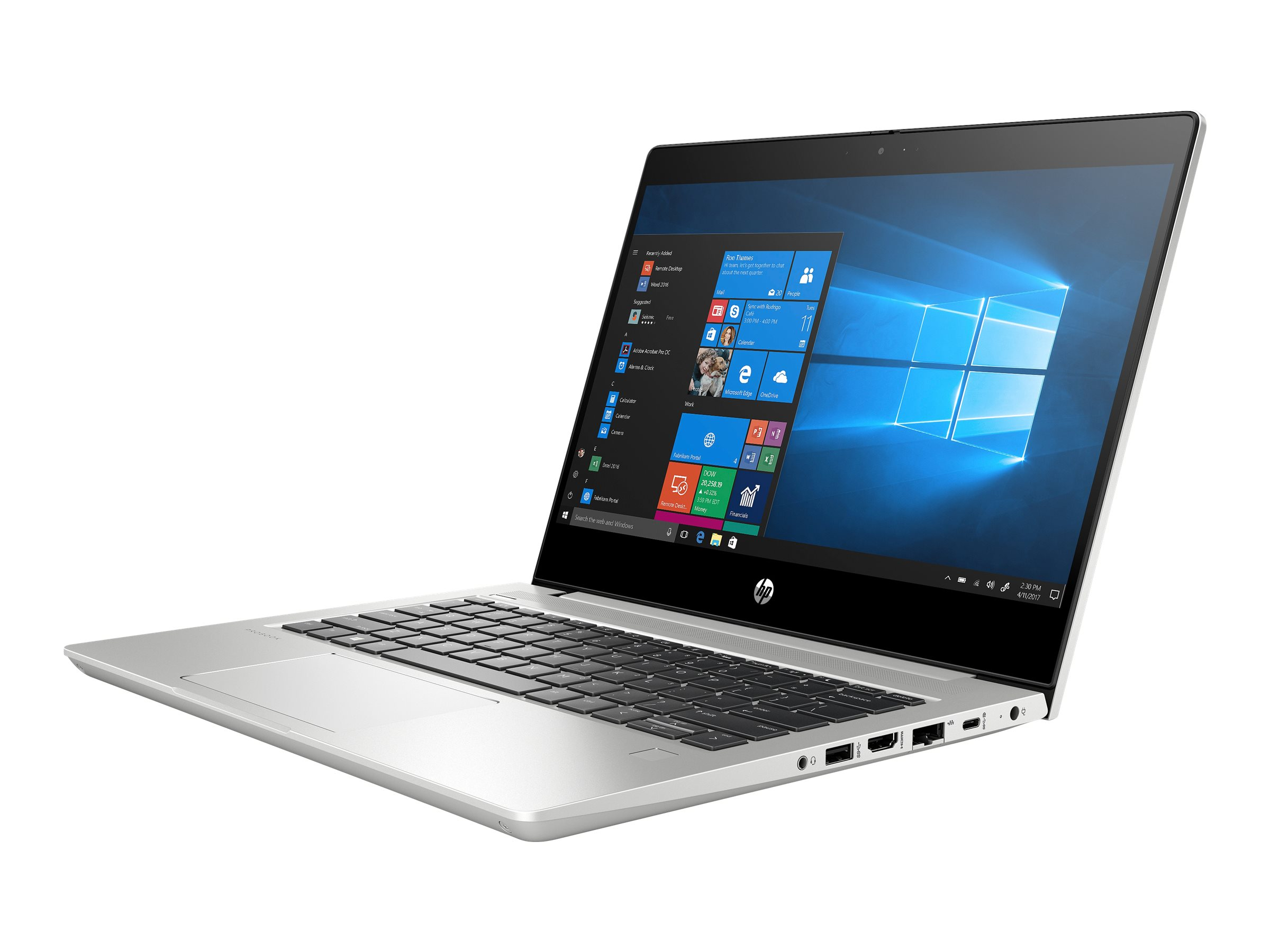 "HP ProBook 430 G7 - Core i5 10210U / 1.6 GHz - Win 10 Pro 64-Bit - 8 GB RAM - 256 GB SSD NVMe - 33.8 cm (13.3"")"