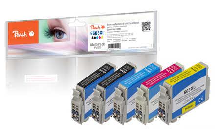Peach PI200-849 - Kompatibel - Schwarz - Cyan - Magenta - Gelb - Epson - Multi pack - 5 Stück(e) - 13 ml