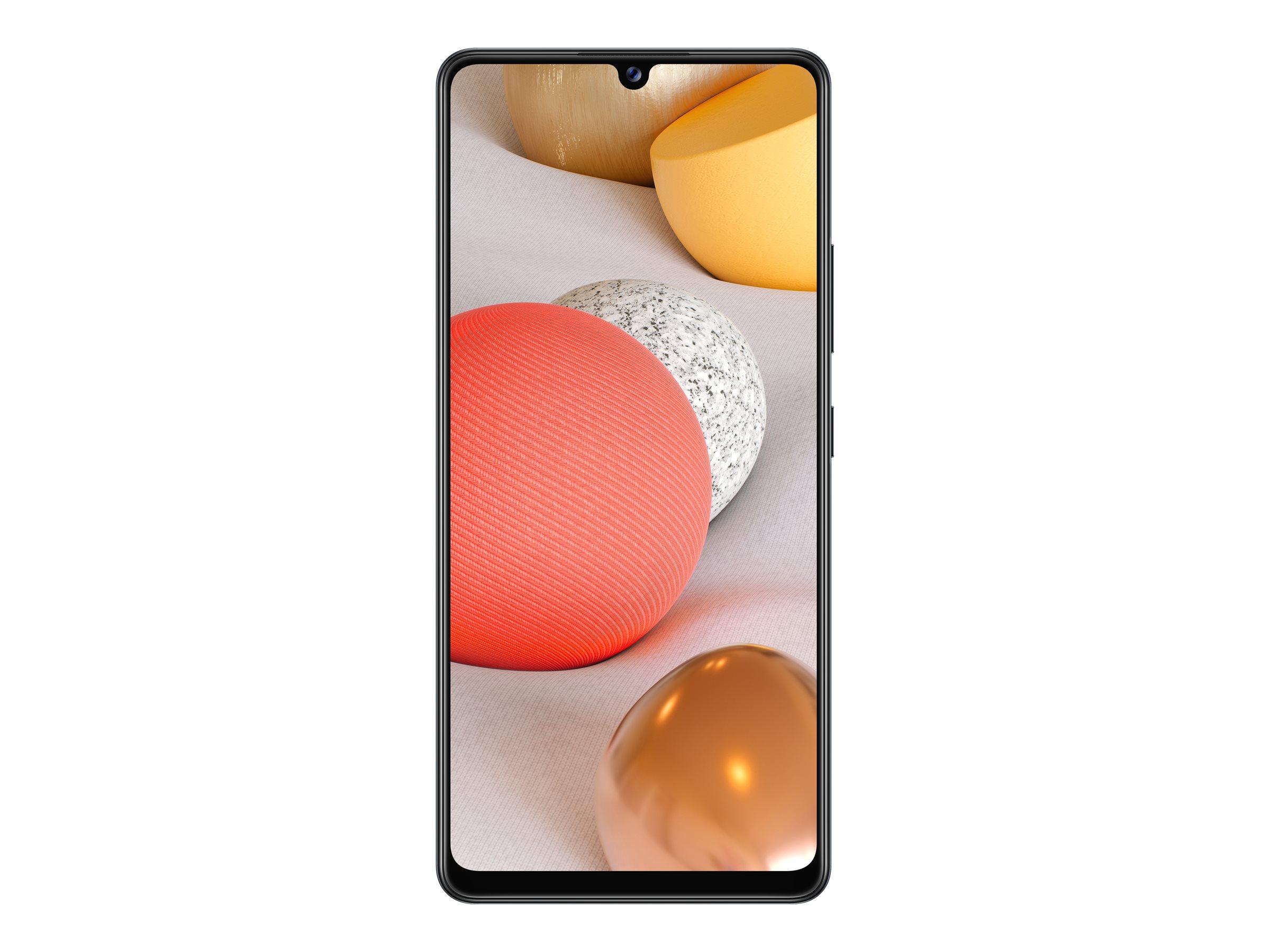 "Samsung Galaxy A42 5G - Smartphone - Dual-SIM - 5G NR - 128 GB - microSD slot, - microSD slot - GSM - 6.6"" - 1600 x 720 Pixel - Super AMOLED - RAM 4 GB (20 MP Vorderkamera)"