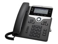 7841 IP-Telefon Schwarz - Silber Kabelgebundenes Mobilteil LCD 4 Zeilen