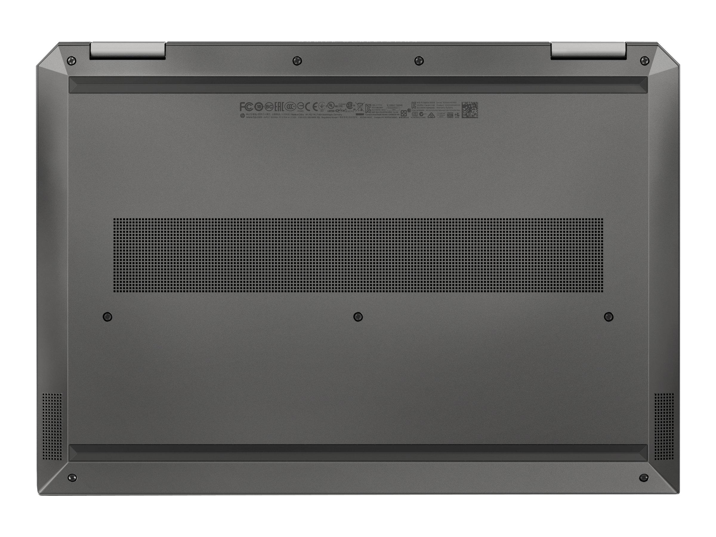"HP ZBook Studio x360 G5 Mobile Workstation - Flip-Design - Core i7 9750H / 2.6 GHz - Win 10 Pro 64-Bit - 16 GB RAM - 512 GB SSD NVMe, TLC - 39.62 cm (15.6"")"
