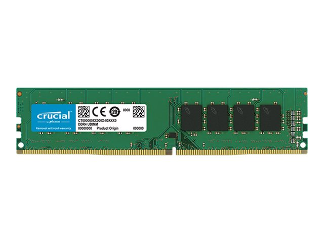Micron Crucial - DDR4 - 16 GB - DIMM 288-PIN - 3200 MHz / PC4-25600