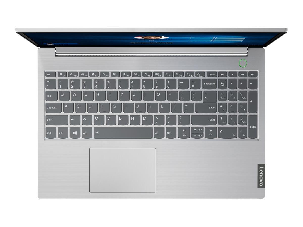 "Lenovo ThinkBook 15-IIL 20SM - Core i5 1035G1 / 1 GHz - Win 10 Pro 64-Bit - 8 GB RAM - 256 GB SSD NVMe - 39.6 cm (15.6"")"