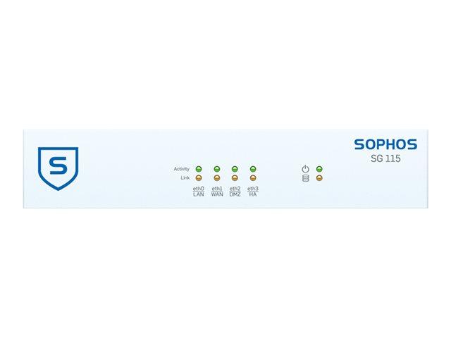 Sophos SG 115 - Sicherheitsgerät - mit 2 Jahre TotalProtect