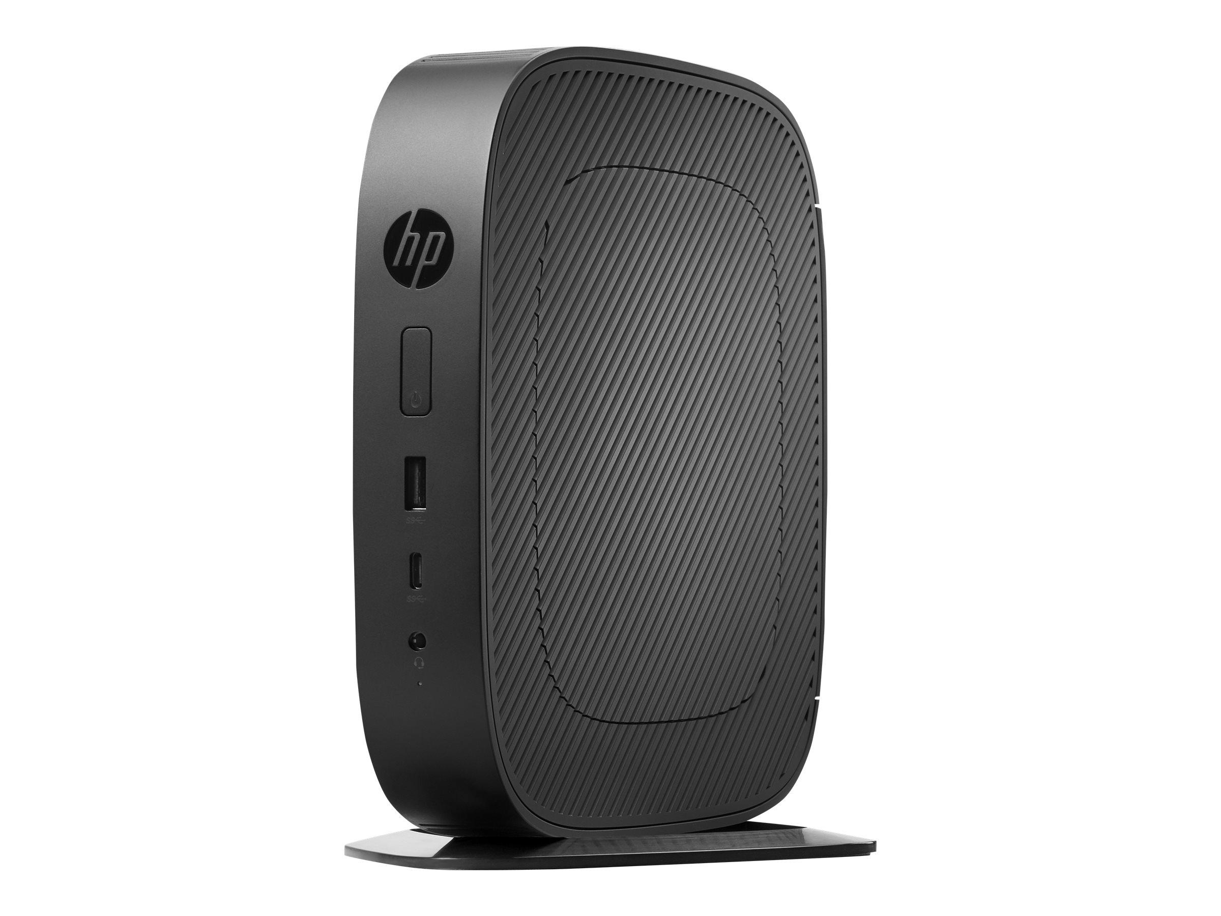 HP t530 - Thin Client - Tower - 1 x GX-215JJ 1.5 GHz RAM 8 GB - Flash 32 GB - Radeon R2E - GigE - WLAN - Bluetooth - Win 10 IOT Enterprise