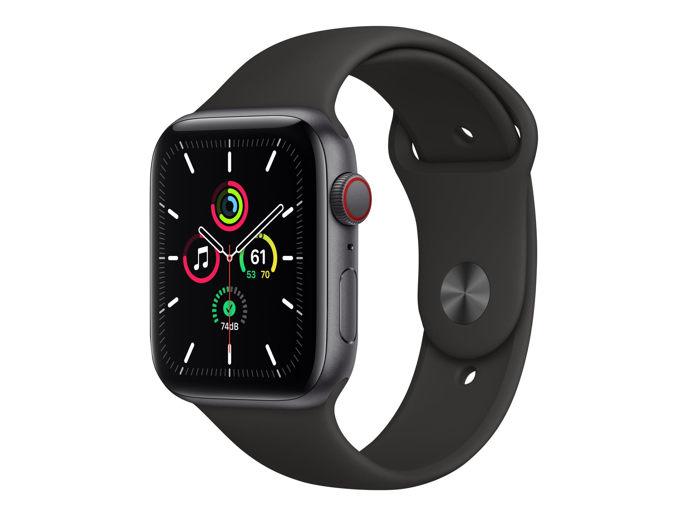 Apple Watch SE (GPS + Cellular) - 44 mm - Space grau Aluminium