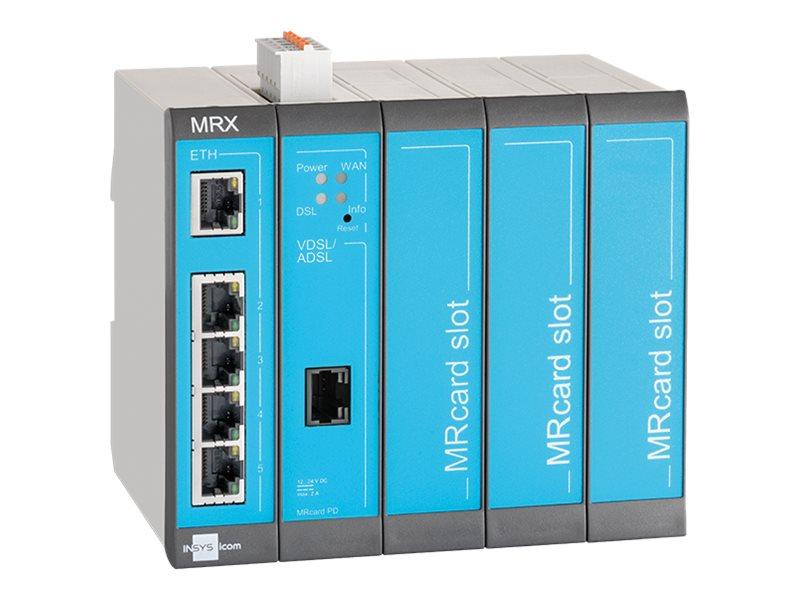 Vorschau: Insys icom MRX MRX5 DSL - Annex-B - Router - DSL-Modem