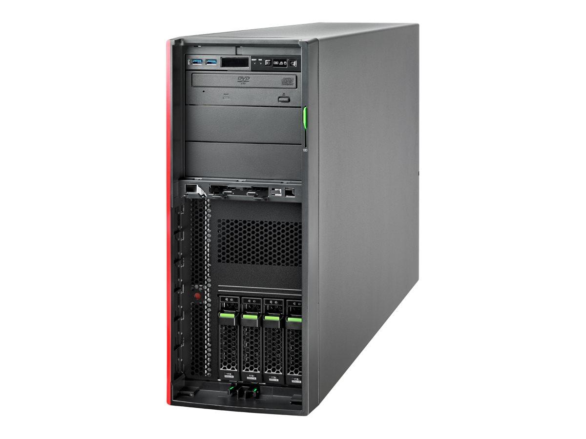 """Fujitsu PRIMERGY TX2550 M5 - Server - Tower - 4U - zweiweg - 1 x Xeon Silver 4214 / 2.2 GHz - RAM 16 GB - SATA - Hot-Swap 6.4 cm (2.5"""")"""