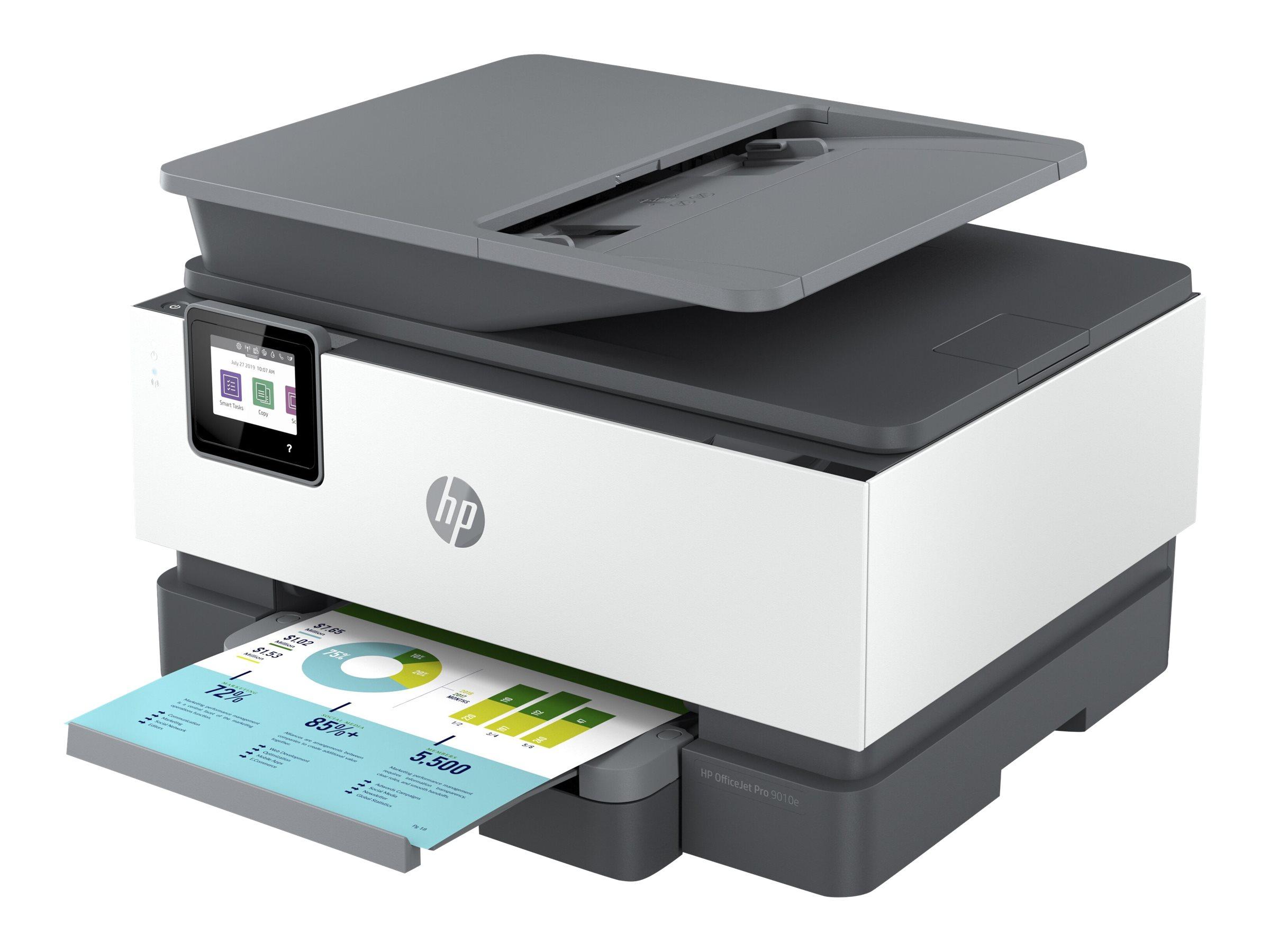 HP Officejet Pro 9010e All-in-One - Multifunktionsdrucker - Farbe - Tintenstrahl - Legal (216 x 356 mm)