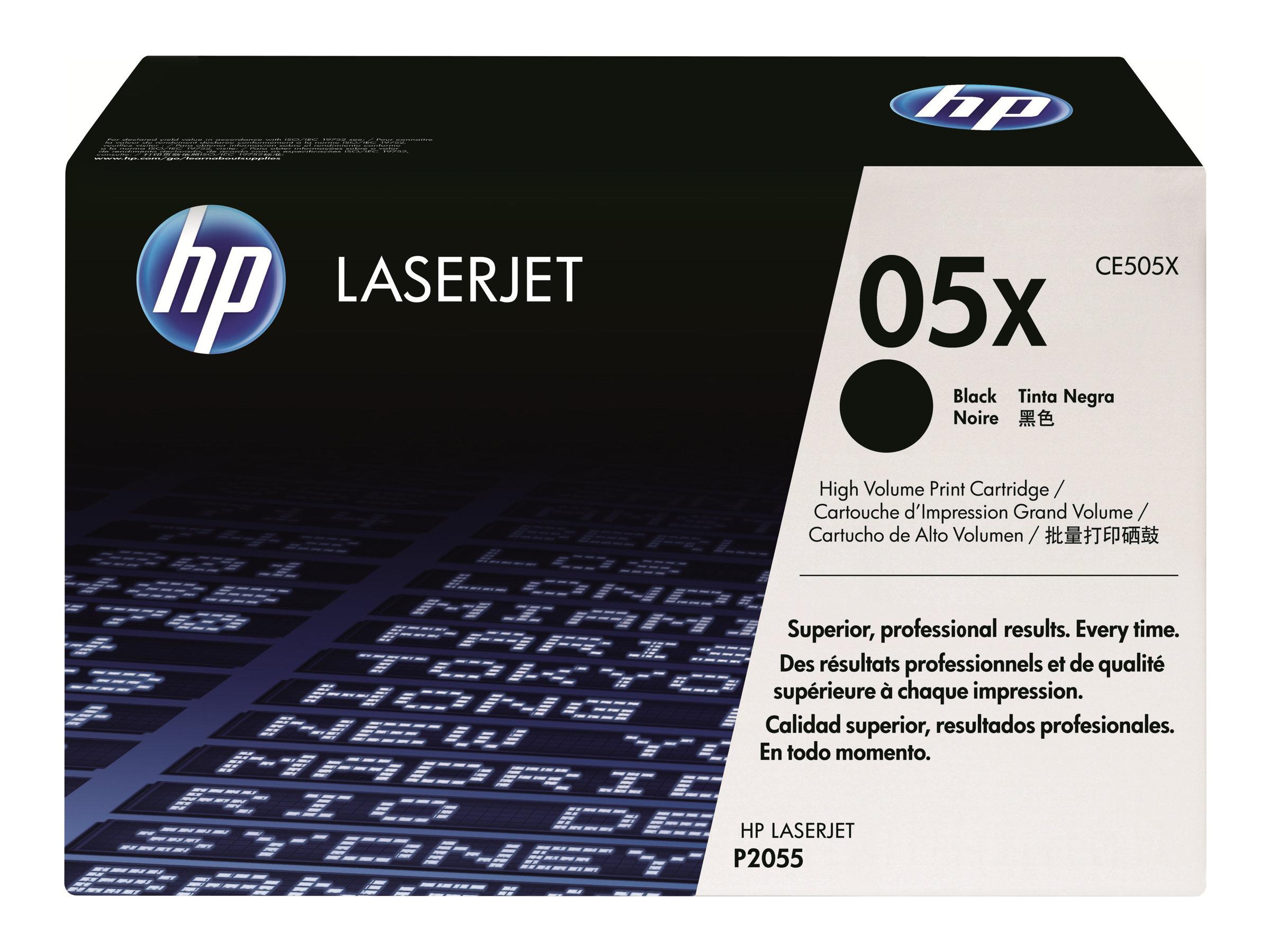HP CE505X - Tonerpatrone - 1 x Schwarz