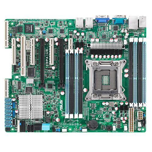 ASUS Z9PA-U8/iKVM Intel C602 LGA 2011 (Socket R) ATX Server-/Workstation-Motherboard