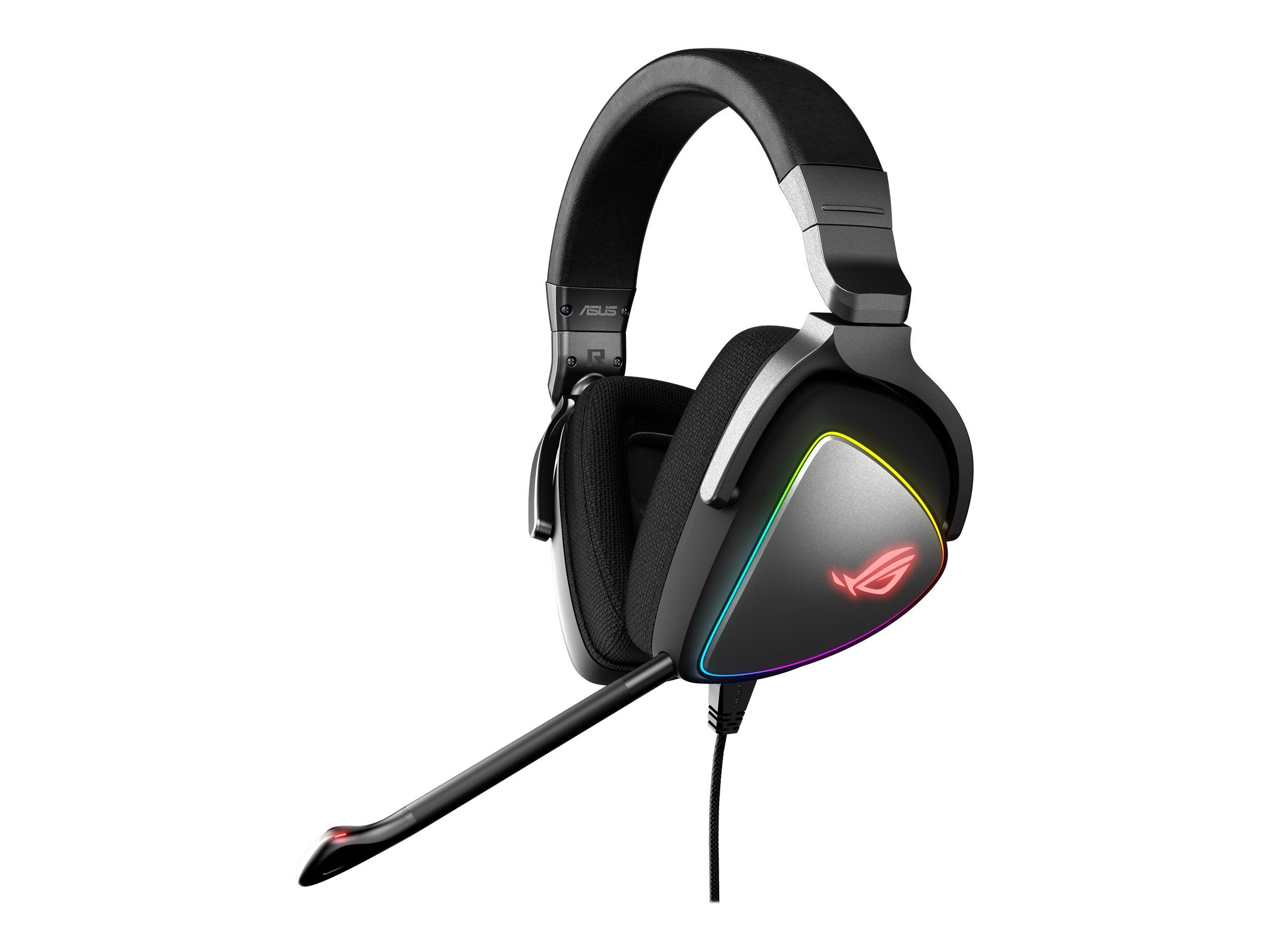 ASUS ROG Delta - Headset - ohrumschließend - kabelgebunden