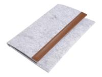 "163776 17.8cm/7"" Blatt Grau Tablet-Schutzhülle"