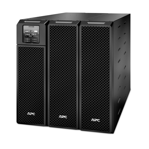 APC Smart-UPS On-Line Doppelwandler (Online) 10000VA 10AC-Ausgänge Rackmount/Tower Schwarz Unterbrechungsfreie Stromversorgung (UPS)