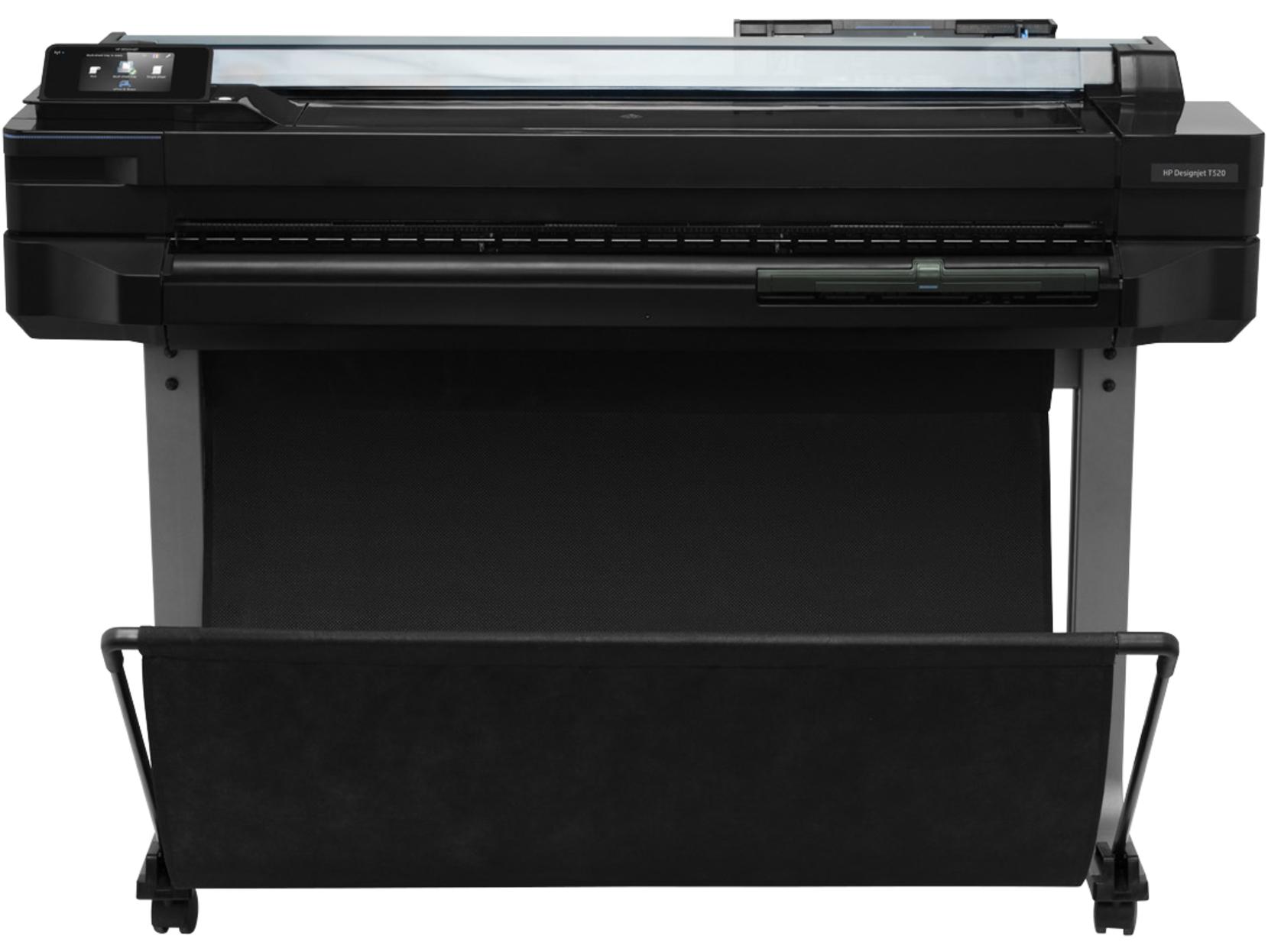 HP DesignJet T520 ePrinter - 914 mm Grossformatdrucker - Farbe - Tintenstrahl - A0, ANSI D, Rolle