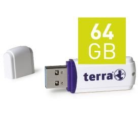 Wortmann TERRA USThree - USB-Flash-Laufwerk - 64 GB