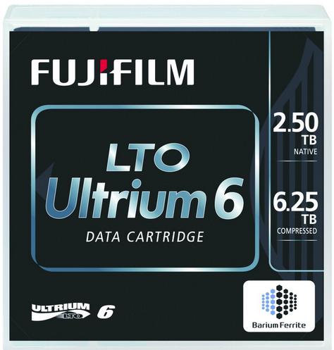 Fujitsu Fuji - 5 x LTO Ultrium 6 - 2.5 TB / 6.25 TB - etikettiert