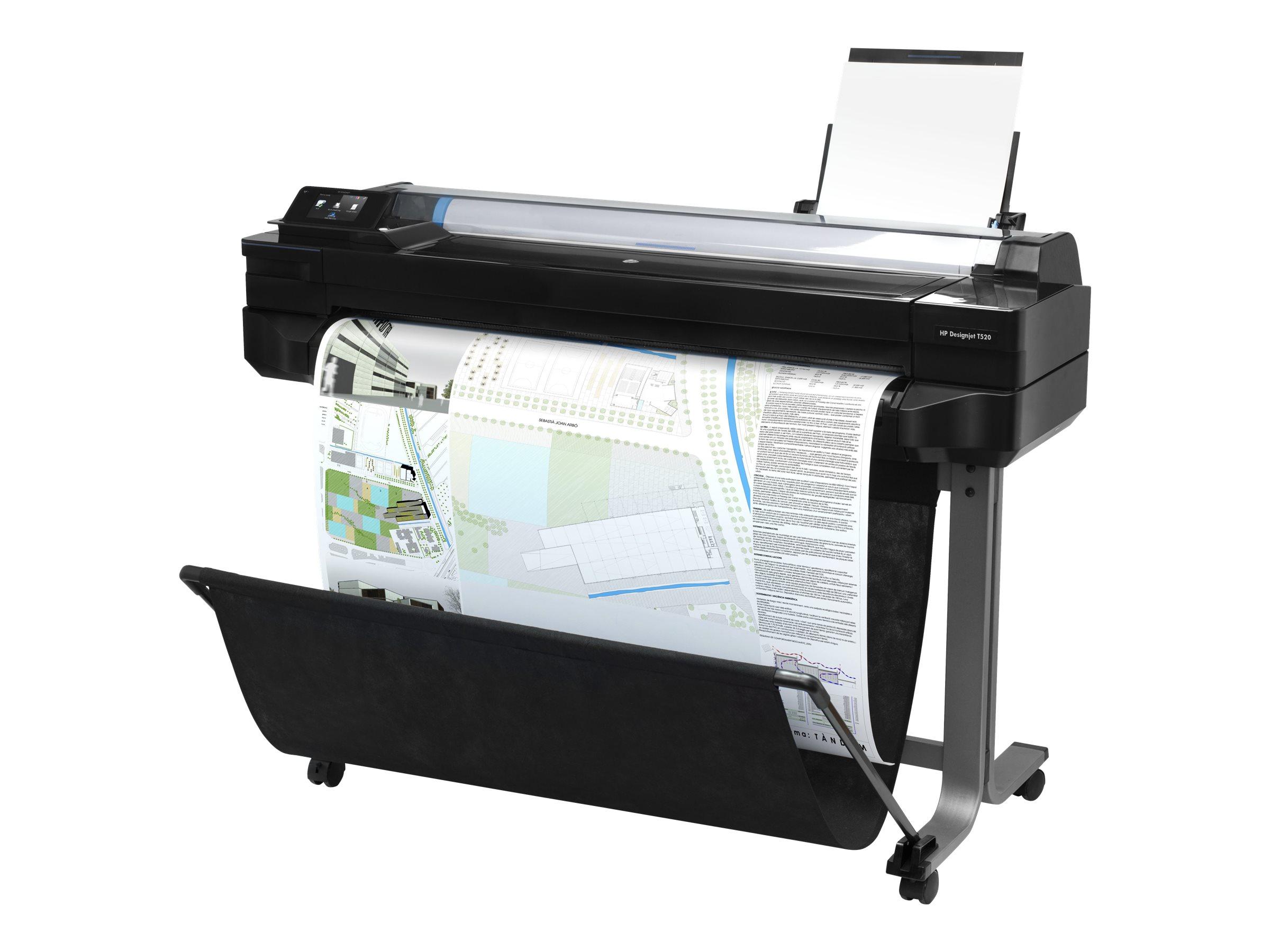 """HP DesignJet T520 ePrinter - 914 mm (36"""") Gro?formatdrucker"""