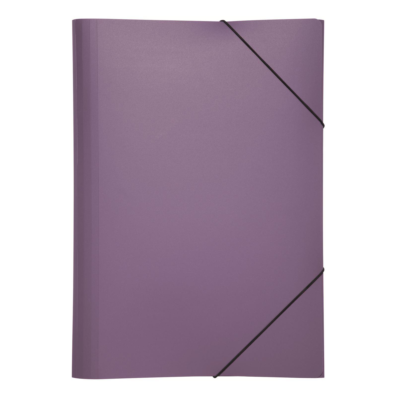 Pagna 21638-12 - A3 - Polypropylen (PP) - Violett - Gummiband - 5 Stück(e)