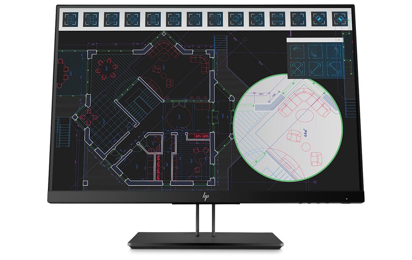 HP Z24i G2 24Zoll Full HD IPS Schwarz Computerbildschirm