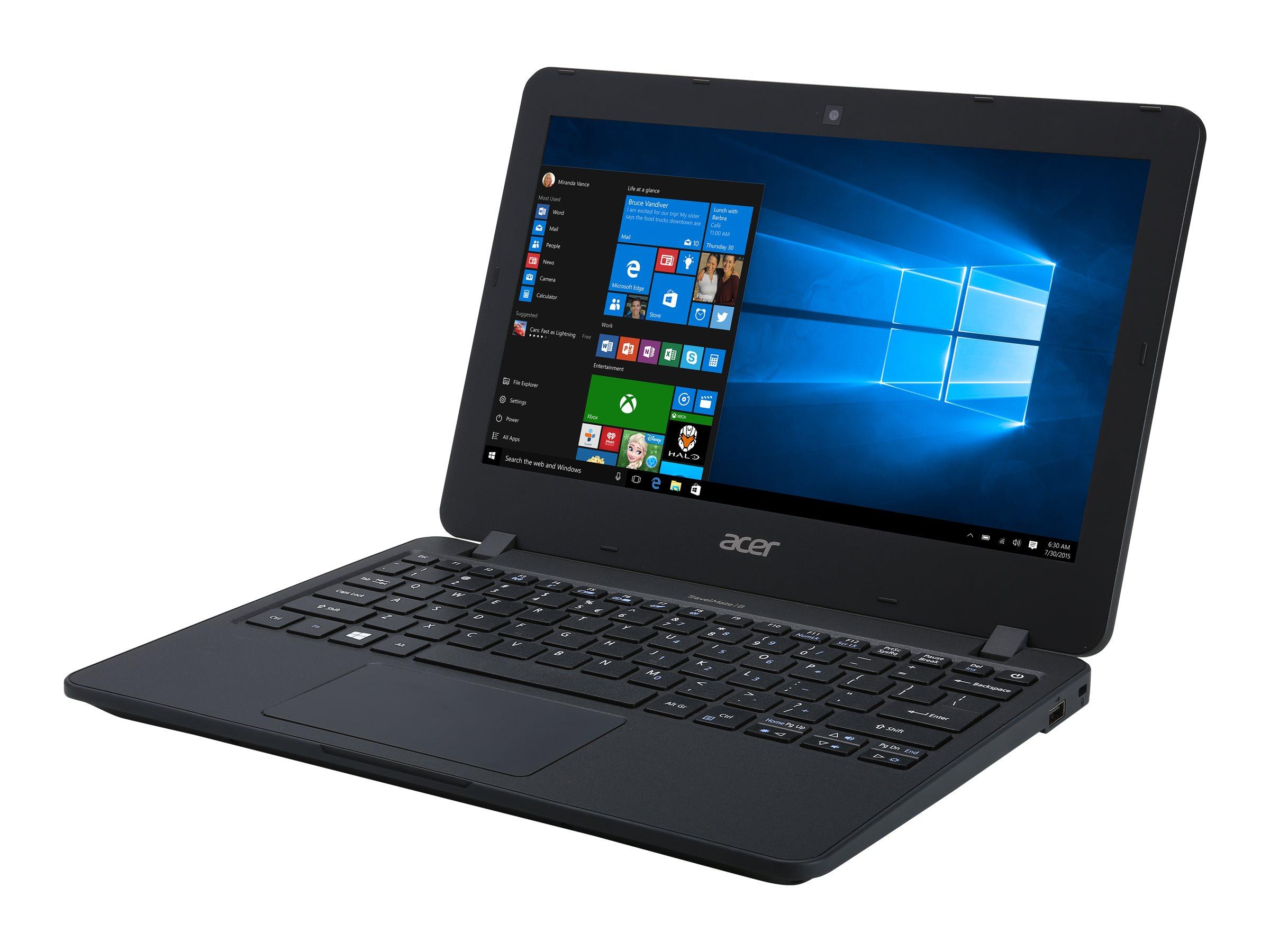 "Acer TravelMate B117-M- - 11,6"" Notebook - Pentium N 2,56 GHz 29,5 cm"