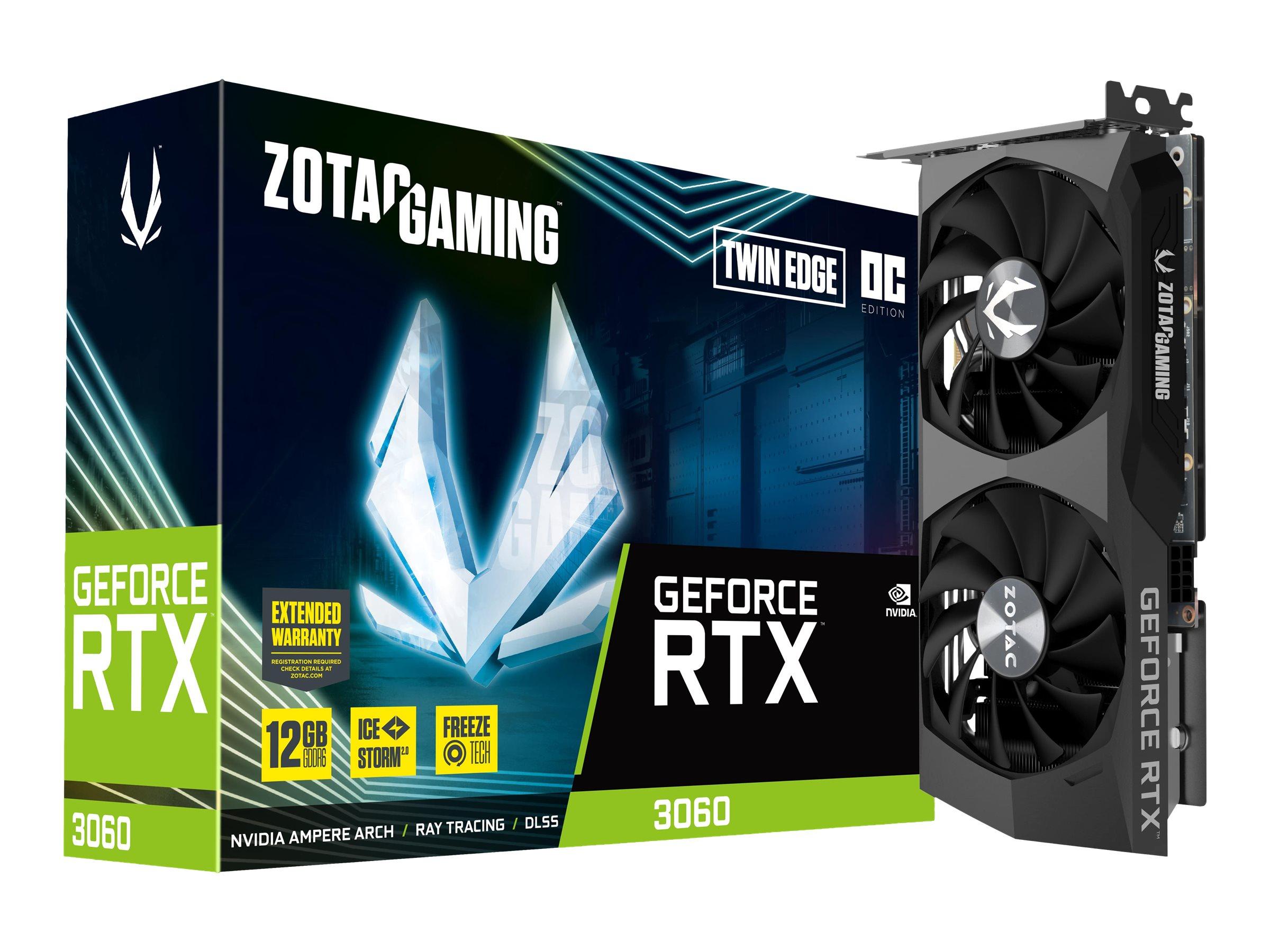 Vorschau: ZOTAC GAMING GeForce RTX 3060 Twin Edge OC - Grafikkarten