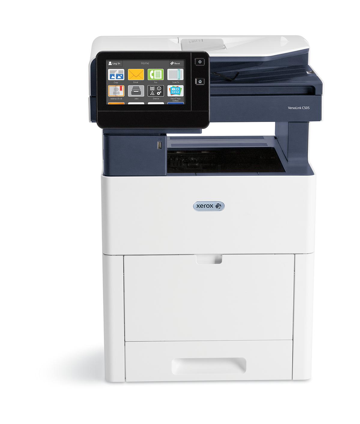 Xerox VersaLink C505V_X - Laser - 1200 x 2400 DPI - 700 Blätter - A4 - Direkter Druck - Schwarz - Blau - Weiß