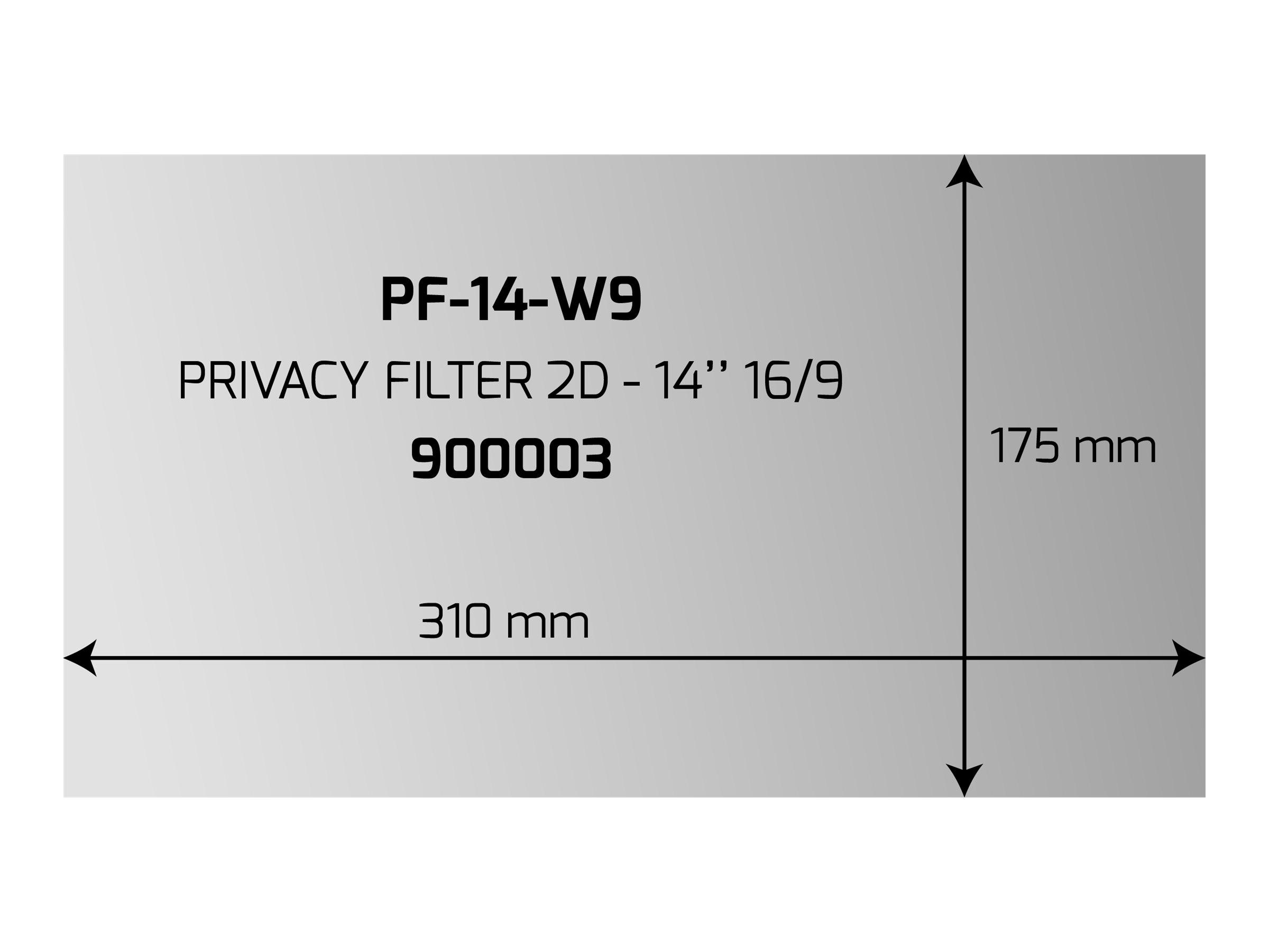 """PORT Designs PORT Professional - Blickschutzfilter für Bildschirme - 35.6 cm (14"""")"""