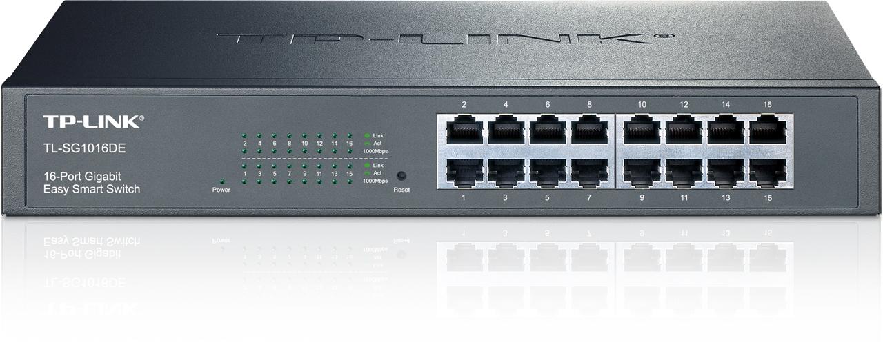 TP-LINK JetStream TL-SG1016DE - Switch - verwaltet