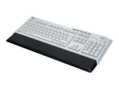 Fujitsu KBPC PX ECO - Tastatur - USB - USA - Anthrazit, Marble Gray