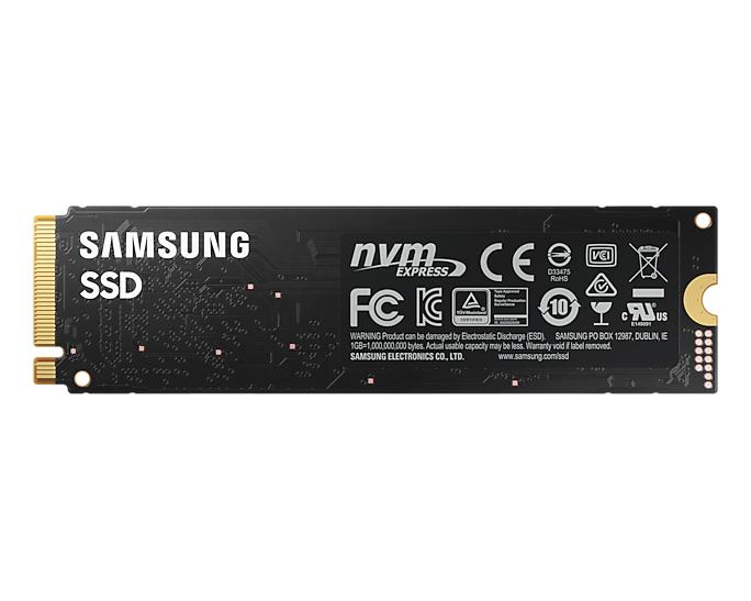Samsung 980 MZ-V8V1T0BW - 1 TB SSD - intern - M.2 2280 - PCI Express 3.0 x4 (NVMe)
