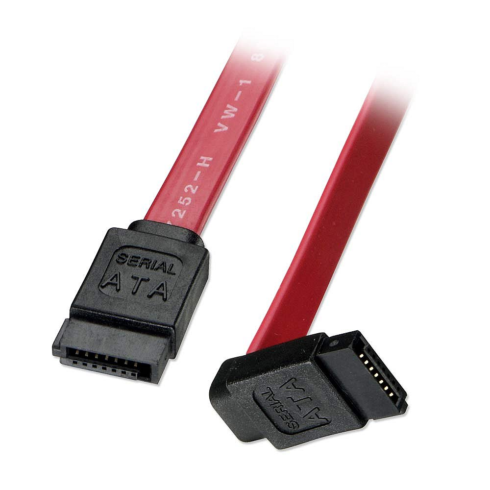 Lindy Internes SATA-Kabel mit abgewinkeltem Stecker - Kabel