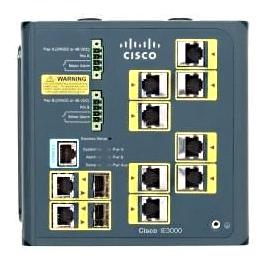 Cisco IE 3000 Switch, 8 10/100 + 2 T/SFP (IE-3000-8TC)