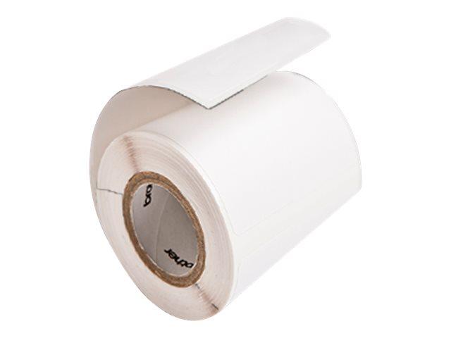 Brother RDQ04E1 - Weiß - 50.8 x 25.58 mm (12 Rolle(n) x 450) gestanzte Etiketten