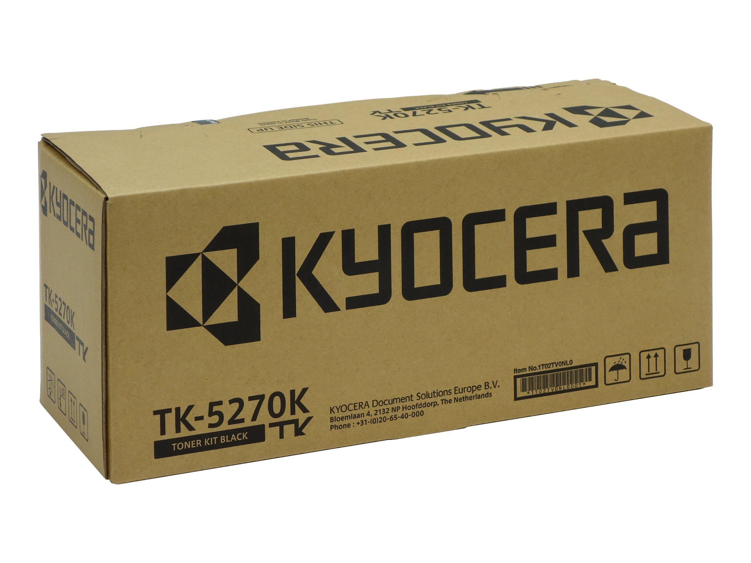 Kyocera TK 5270K - Schwarz - Original - Tonerpatrone
