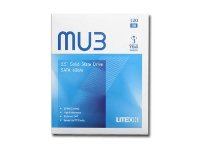 "Lite-On MU 3 PH6-CE120-G - 120 GB SSD - intern - 2.5"" (6.4 cm)"
