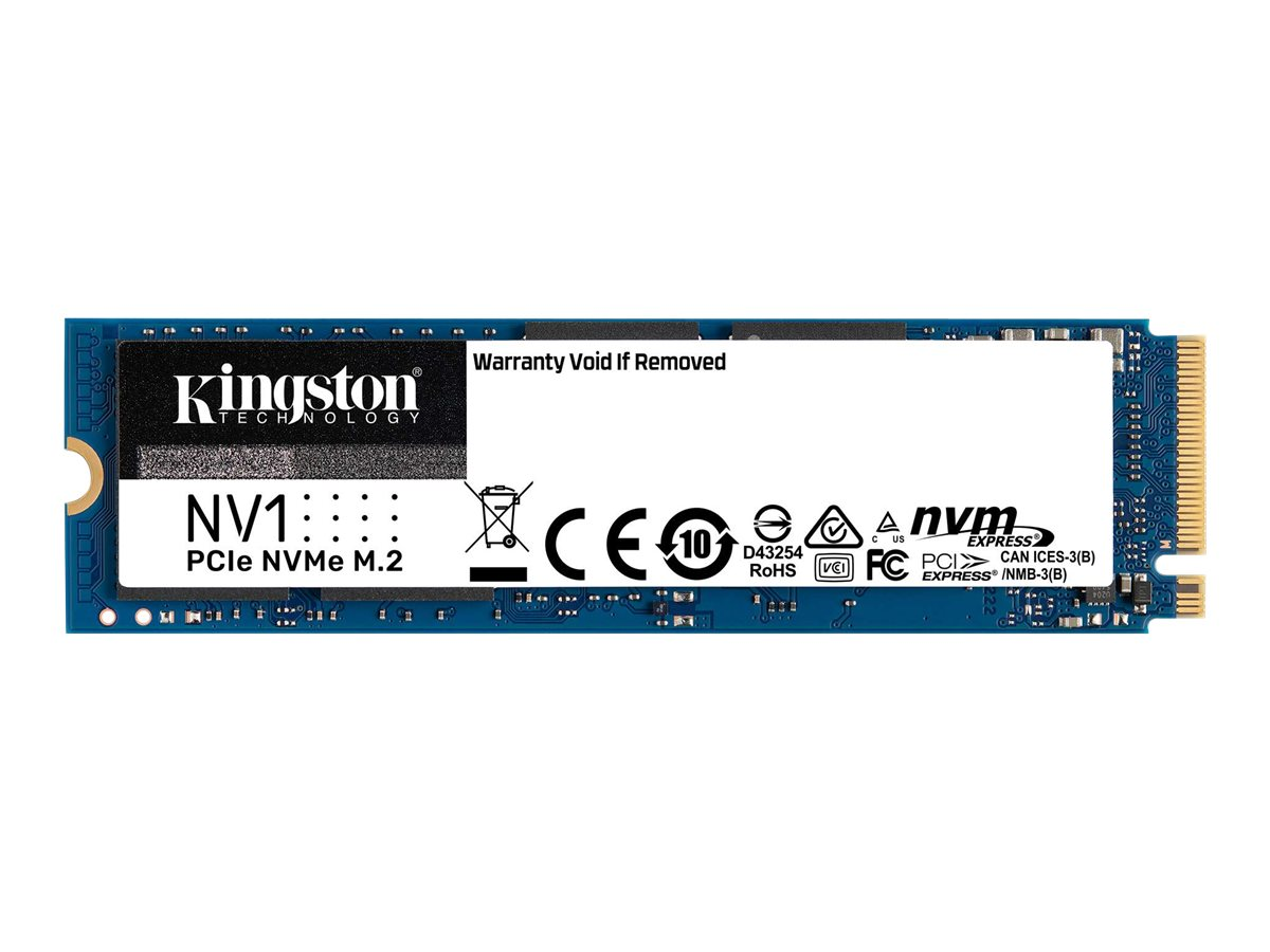 Kingston NV1 - 250 GB SSD - intern - M.2 2280 - PCI Express 3.0 x4 (NVMe)