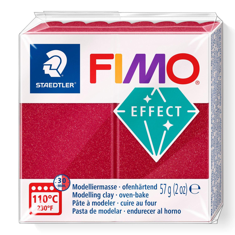 STAEDTLER FIMO 8020 - Knetmasse - Rot - Erwachsene - 1 Stück(e) - Metallic ruby red - 1 Farben