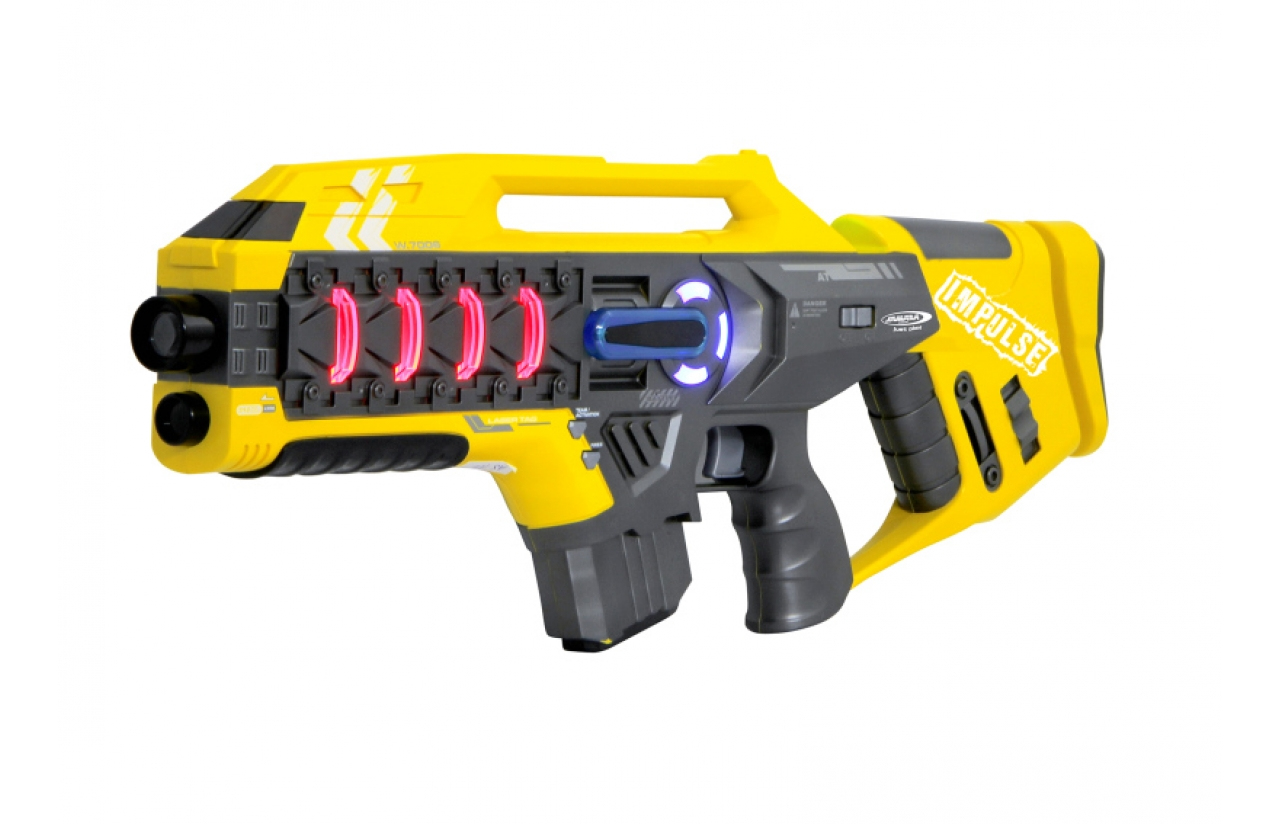 JAMARA 4100831 - Spielzeug-Zerstörer - Rot - Gelb - 2 Stück(e)