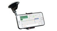 Mobilis Unviersal Car Flexible Suction Mount with Smartphone Clip