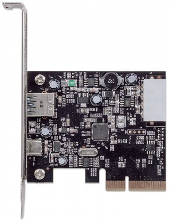 Manhattan 151757 Eingebaut USB 3.1 Schnittstellenkarte/Adapter