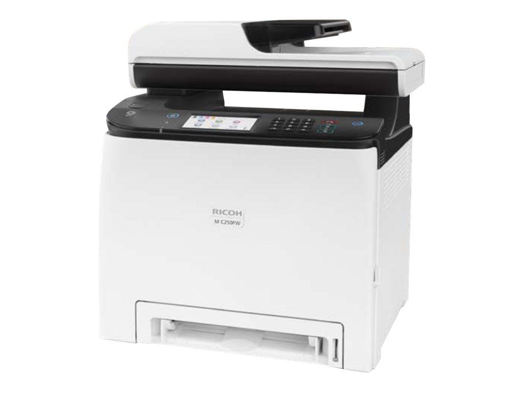 Ricoh M C250FW - Multifunktionsdrucker - Farbe - Laser - Legal (216 x 356 mm)