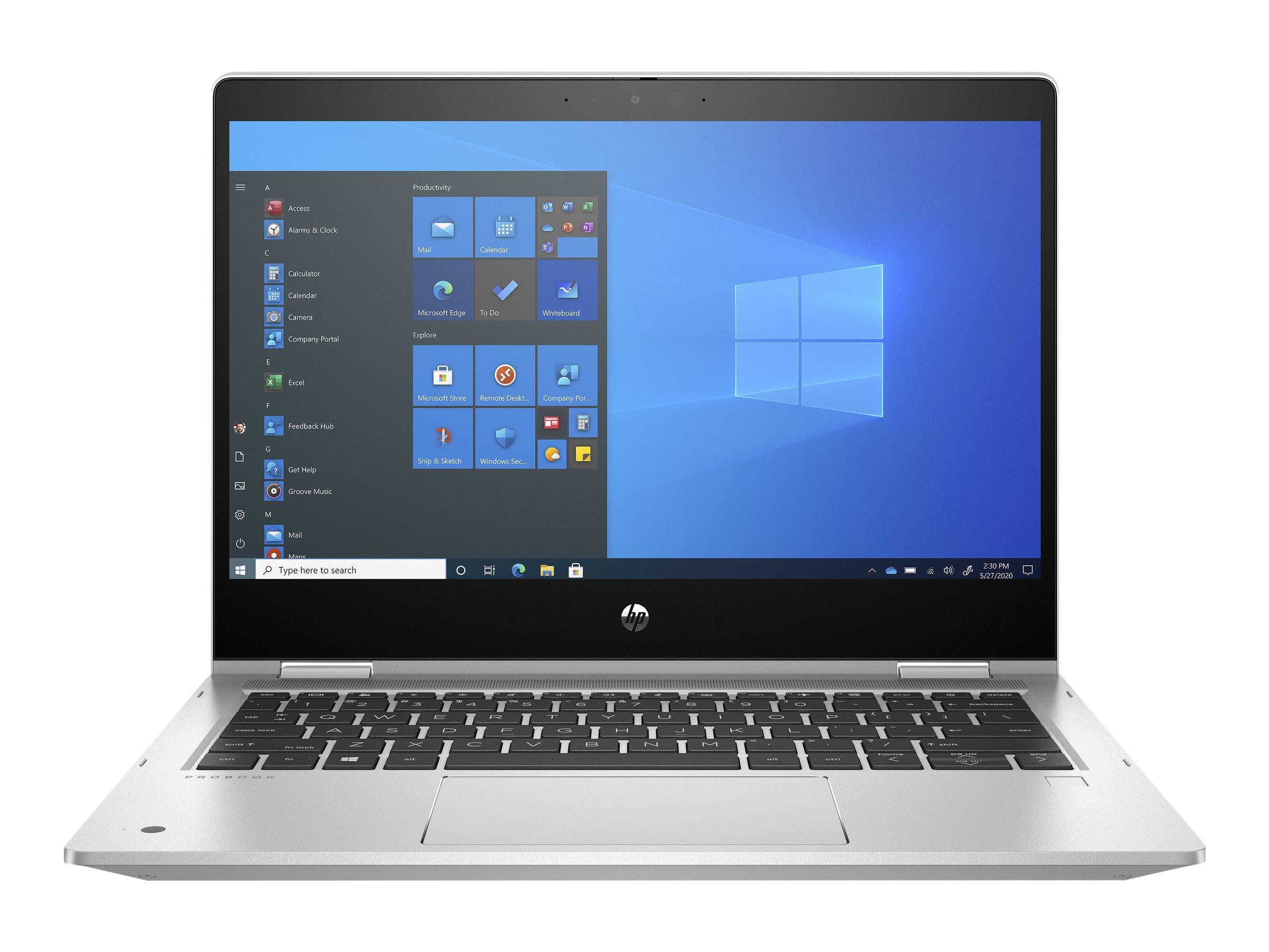 HP ProBook x360 435 G8 - Flip-Design - Ryzen 3 5400U / 2.6 GHz - Win 10 Pro 64-Bit - 8 GB RAM - 256 GB SSD NVMe, TLC, HP