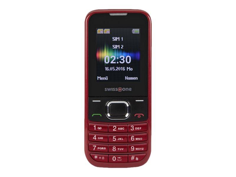 Doro Swisstone SC 230 - Mobiltelefon - Dual-SIM - microSD slot
