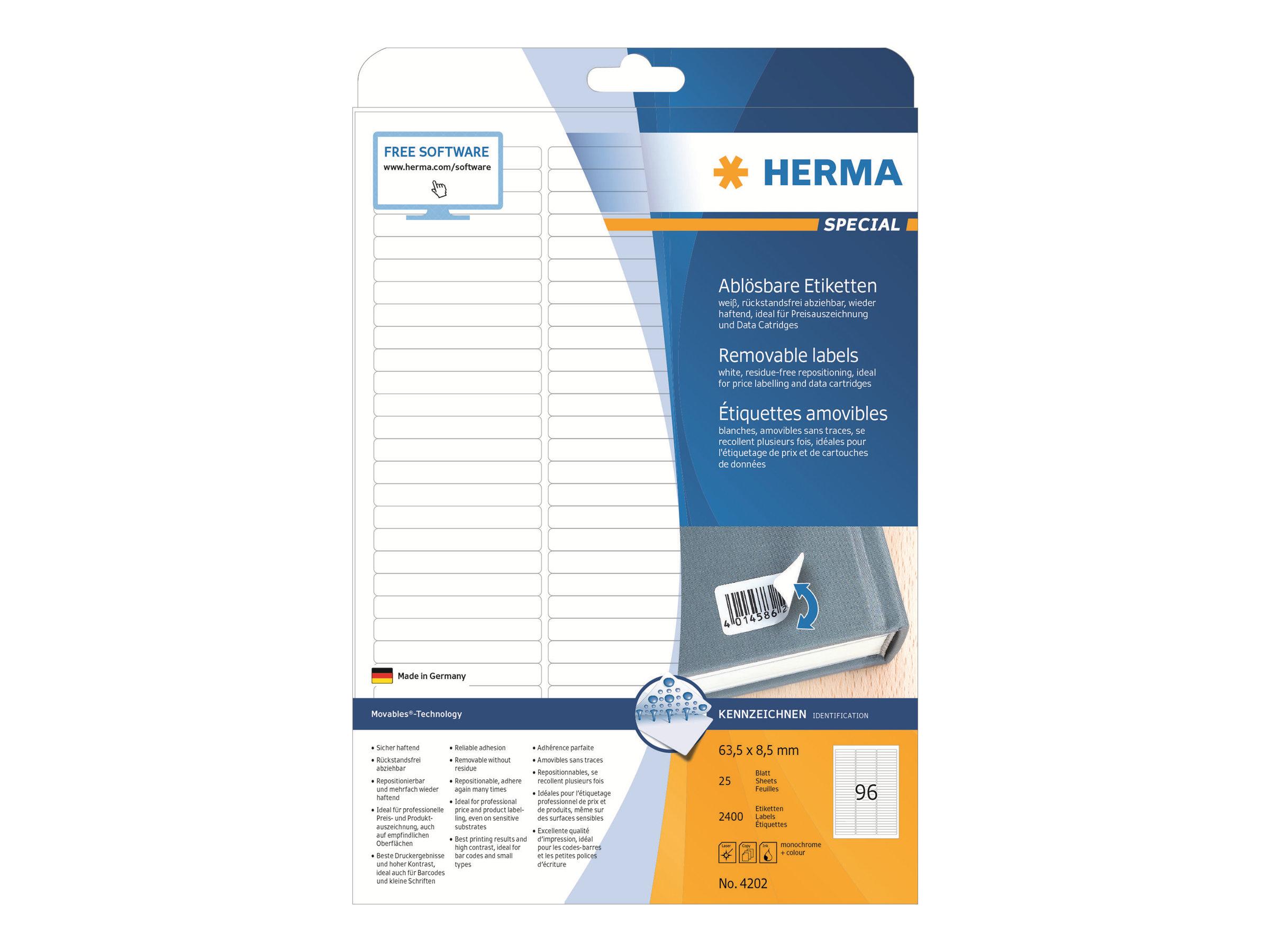 Vorschau: HERMA Special - Papier - matt