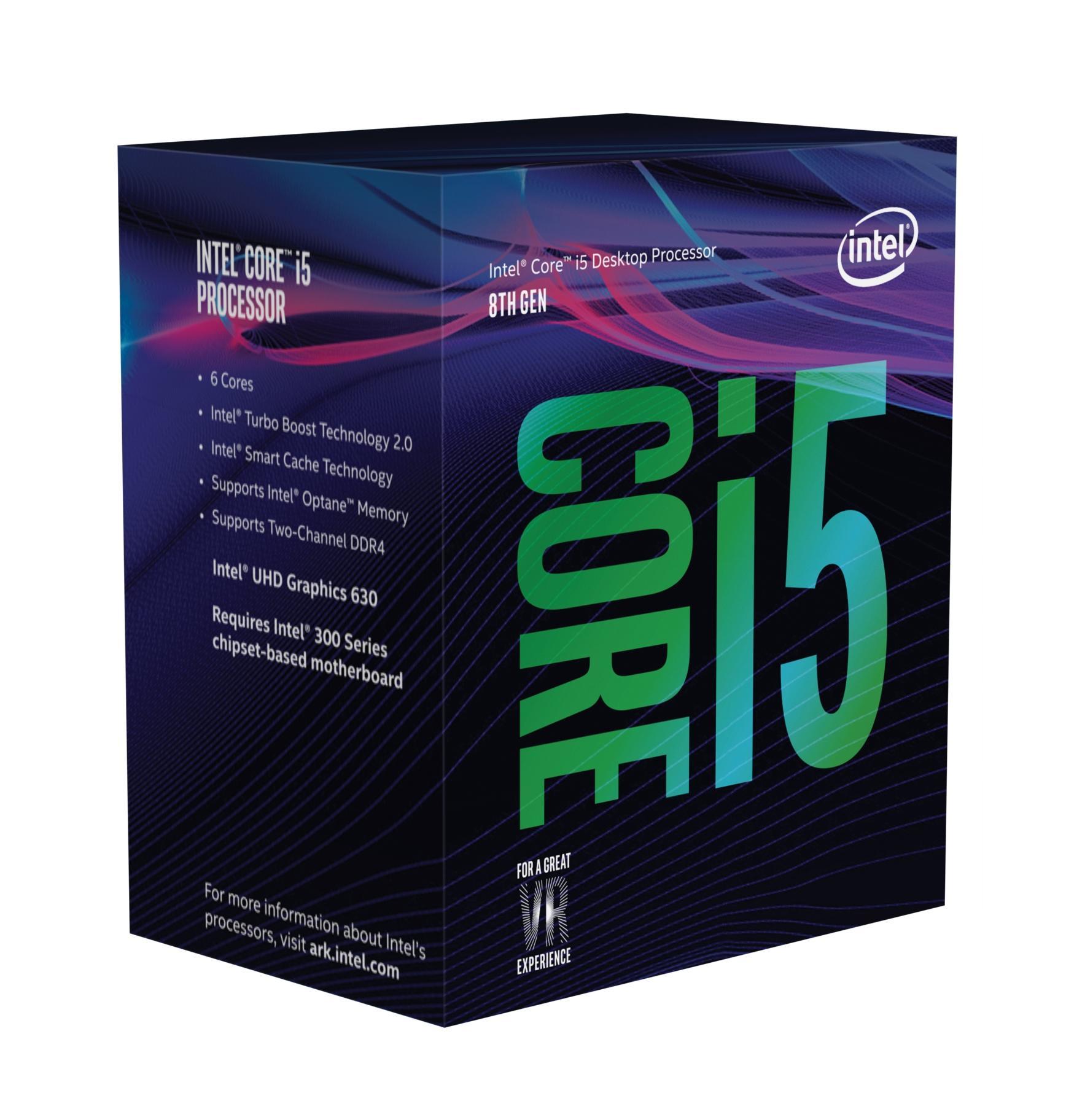 Intel Core i5 8600 - 3.1 GHz - 6 Kerne - 6 Threads