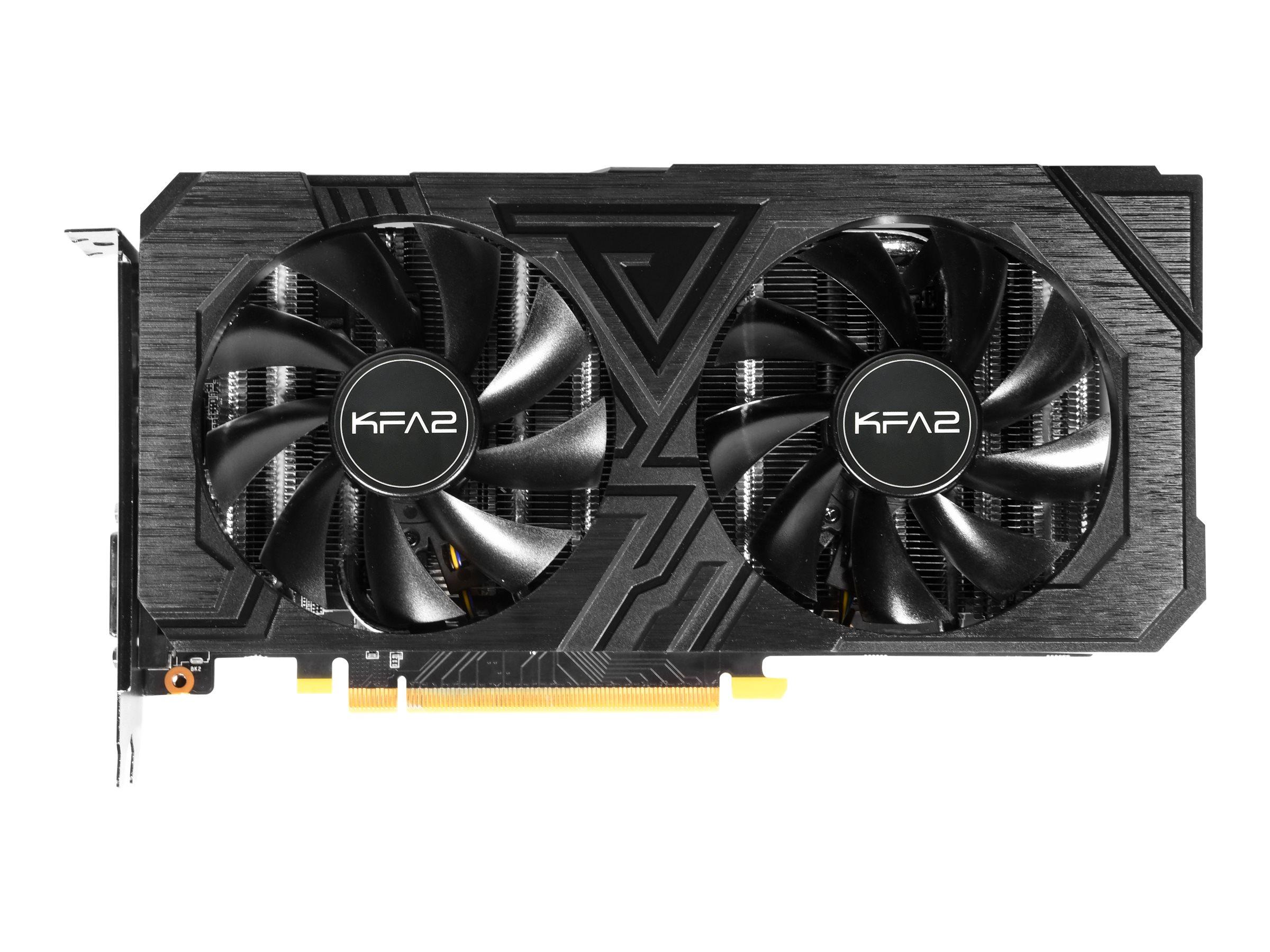 KFA2 GeForce GTX 1660 EX (1-Click OC) - Grafikkarten