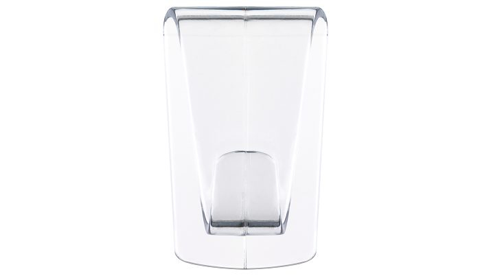 Tesa Powerstrips Transparent DECO - Indoor - Universalhaken - Transparent - Klebestreifen - 2 Stück(e)